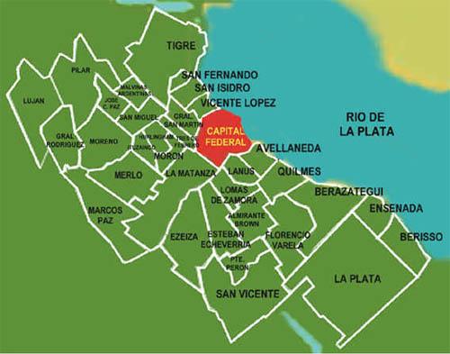Gran Buenos Aires o conurbano bonaerense