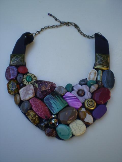Collar babero multicolor