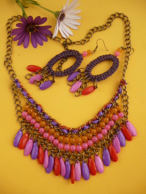 Conjunto multicolor