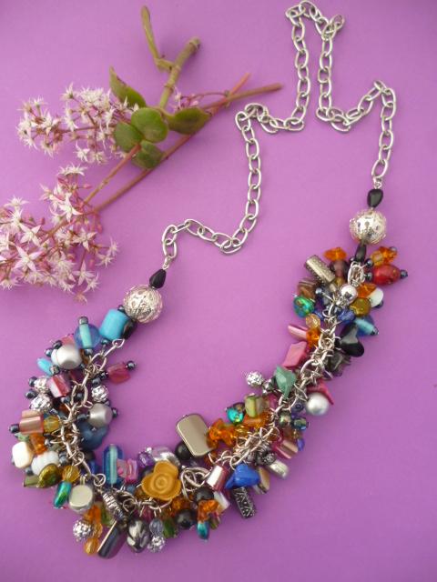 Collar súper multicolor