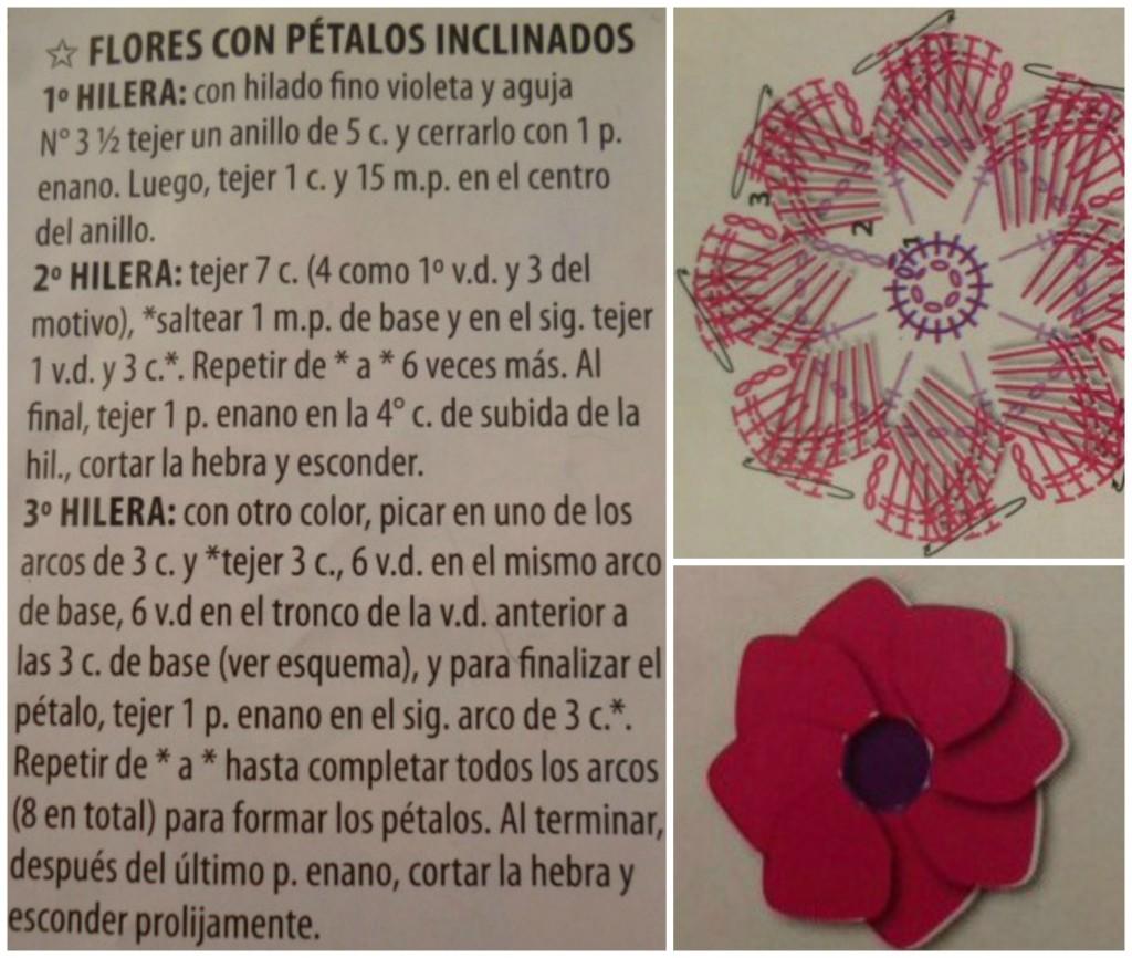 Flor al crochet